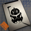 Clone Trooper Captain Rex decal on iPad
