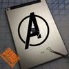 Avengers decal on iPad