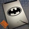 Batman decal on iPad