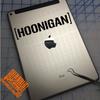 Hoonigan Drift Decal on iPad