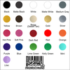 available decal colors
