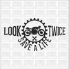 Look Twice Save a Life Motorcycle Cafe Racer