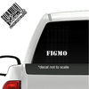 FIGMO Decal on truck