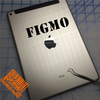 FIGMO Decal on iPad