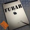 FUBAR Decal on iPad