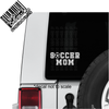 Soccer Mom Decal on Jeep