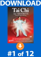 Tai Chi for Arthritis: Lesson #1 Digital Download