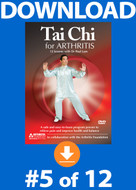 Tai Chi for Arthritis: Lesson #5 Digital Download