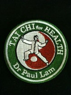 Official Tai Chi for Health Iron on Patch