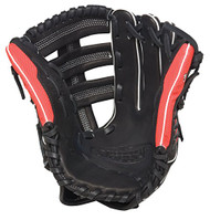 Louisville Slugger Super Z Black 12.75 inch Slow Pitch Softball Glove (Right Handed Throw)