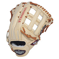 Louisville Slugger Pro Flare Cream 12.75 inch Baseball Glove (Left Handed Throw)
