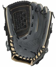 Louisville Slugger 125 Series Gray 12 inch Baseball Glove (Right Handed Throw)
