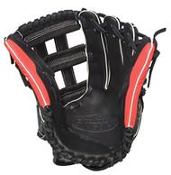Louisville Slugger Super Z Black 13.5 inch Slow Pitch Softball Glove (Right Hand Throw)