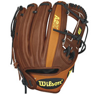 Wilson A2K Game Model (Oil Stain) Dustin Pedroia RB15DP15GM Baseball Glove (Right Hand Throw)