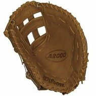 Wilson A2000 First Base Mitt BB1883 Tan 12 inch (Left Handed Throw)