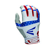 Easton HS9 Stars and Stripes Batting Gloves 1 Pair (Small)