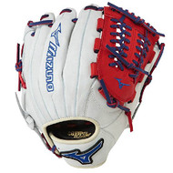 Mizuno GMVP1177PSE3 Baseball Glove 11.75 inch (Silver-Red-Royal, Right Hand Throw)