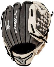 Mizuno Prospect GPP900Y1GY Grey 9 inch Youth Baseball Glove (Left Handed Throw)