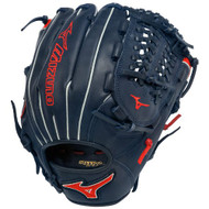 Mizuno GMVP1177PSE2 Baseball Glove MVP Prime 11.75 inch (Navy/Red, Right Hand Throw)
