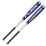 Anderson Senior League Flex -10 Baseball Bat 2 5/8 Barrel (32-inch-22-oz)