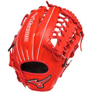 Mizuno MVP Prime SE GMVP1277PSE2 Outfield Baseball Glove (Red/Black, Right Handed Throw)
