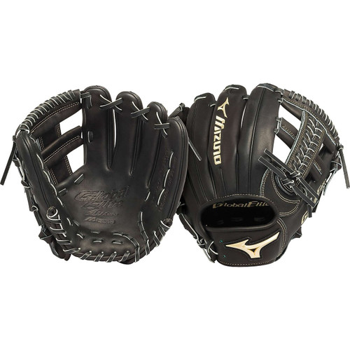 Mizuno GGE61VBK Global Elite VOP 11.5 in Infield Baseball Glove (Right Handed Throw)