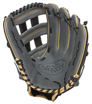 Louisville Slugger 125 Series Gray 12.5 inch Baseball Glove (Right Handed Throw)