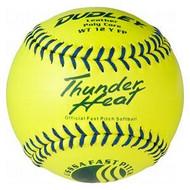 Dudley WT 12 Inch Fastpitch USSSA Softballs (1 dozen)