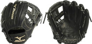 Mizuno GGE50VBK Global Elite VOP Baseball Fielder's Mitt (Black, 11.75-Inch) (Right Handed Throw)