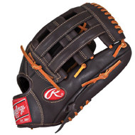 Rawlings Gamer Mocha GXP1275MO Baseball Glove Outfield 12.75 (Left Handed Throw)