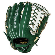 Mizuno GMVP1277PSE3 MVP Prime Baseball Glove 12.75 inch (Forest-Silver, Right Hand Throw)