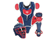 Louisville Slugger Youth PG Series 5 Catchers Set Navy Scarlet