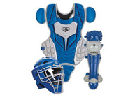 Louisville Slugger Youth PG Series 5 Catchers Set Royal Gray
