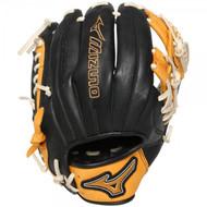 Mizuno GMVP1154SE4 MVP Prime SE Baseball Glove Black Gold