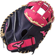 Mizuno MVP Prime SE Catchers Mitts Navy Pink Right Hand Throw