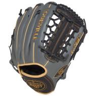 Louisville Slugger FG25GY5 125 Series Gray Fielding Glove 11.5-Inch Left Hand Throw