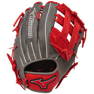 Mizuno MVP Prime SE Softball Glove Smoke Red Left Hand Throw