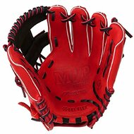 Mizuno 11.5 inch MVP Prime SE3 Baseball Glove GMVP1154PSE3 (Red-Black, Right Hand Throw)