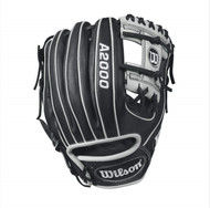 Wilson A2000 1788 Infield Baseball Glove BlackWhite 11.25inch Right Hand Throw