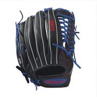 Wilson Bandit Kp92 Baseball Glove 12.5 inch BlackRoyalWhite Right Hand Throw