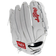 Rawlings Liberty Advanced Softball Glove with Basket Web White 12.5 in Right Hand Throw