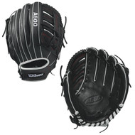 Wilson A500 Y Puig Baseball Glove 12.5 inch BlackWhiteRed Right Hand Throw