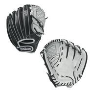 Wilson Onyx Cat Web Fastpitch Glove 12 BlackWhite Right Hand Throw