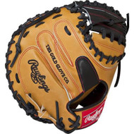 Rawlings Heart of the Hide PROCM33BUB Tan 33 Catchers Mitt