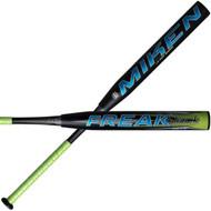 Miken Freak Black Balanced 34 in 25 oz Slowpitch Softball Bat
