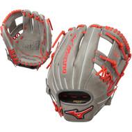 Mizuno MVP Prime SE 11.5 Inch GMVP1154PSE5 Baseball Glove Smoke Red