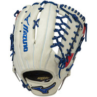 Mizuno MVP Prime SE Baseball Glove Silver Red Navy 12.75 Right Hand Throw