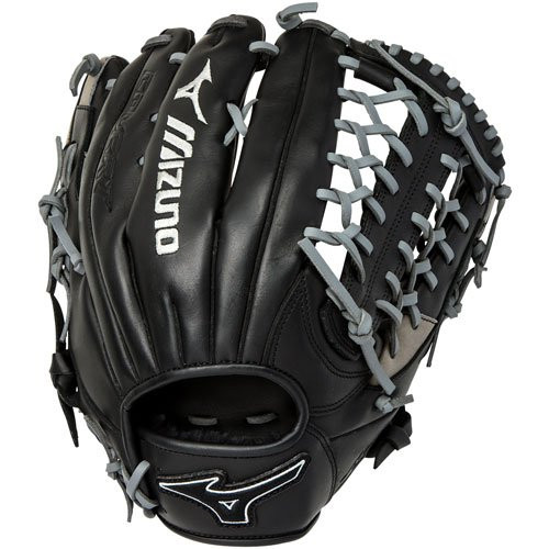Mizuno MVP Prime SE Baseball Glove Black Smoke 12.75 Right Hand Throw