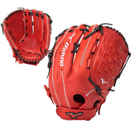 Mizuno MVP Prime SE 14 Inch GMVP1400PSES5 Slowpitch Glove Red Black