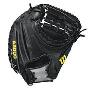 Wilson 2018 A2000 M2 SS Catchers Mitt Right Hand Throw 33.5
